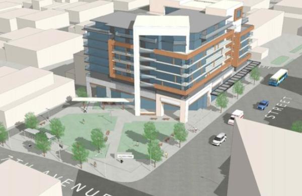 Social Housing and Public Park for Mount Pleasant