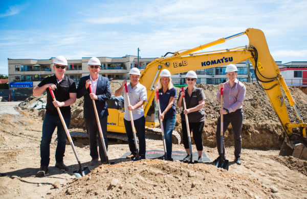 Semiah Ground Breaking Draws Council & Homeowners