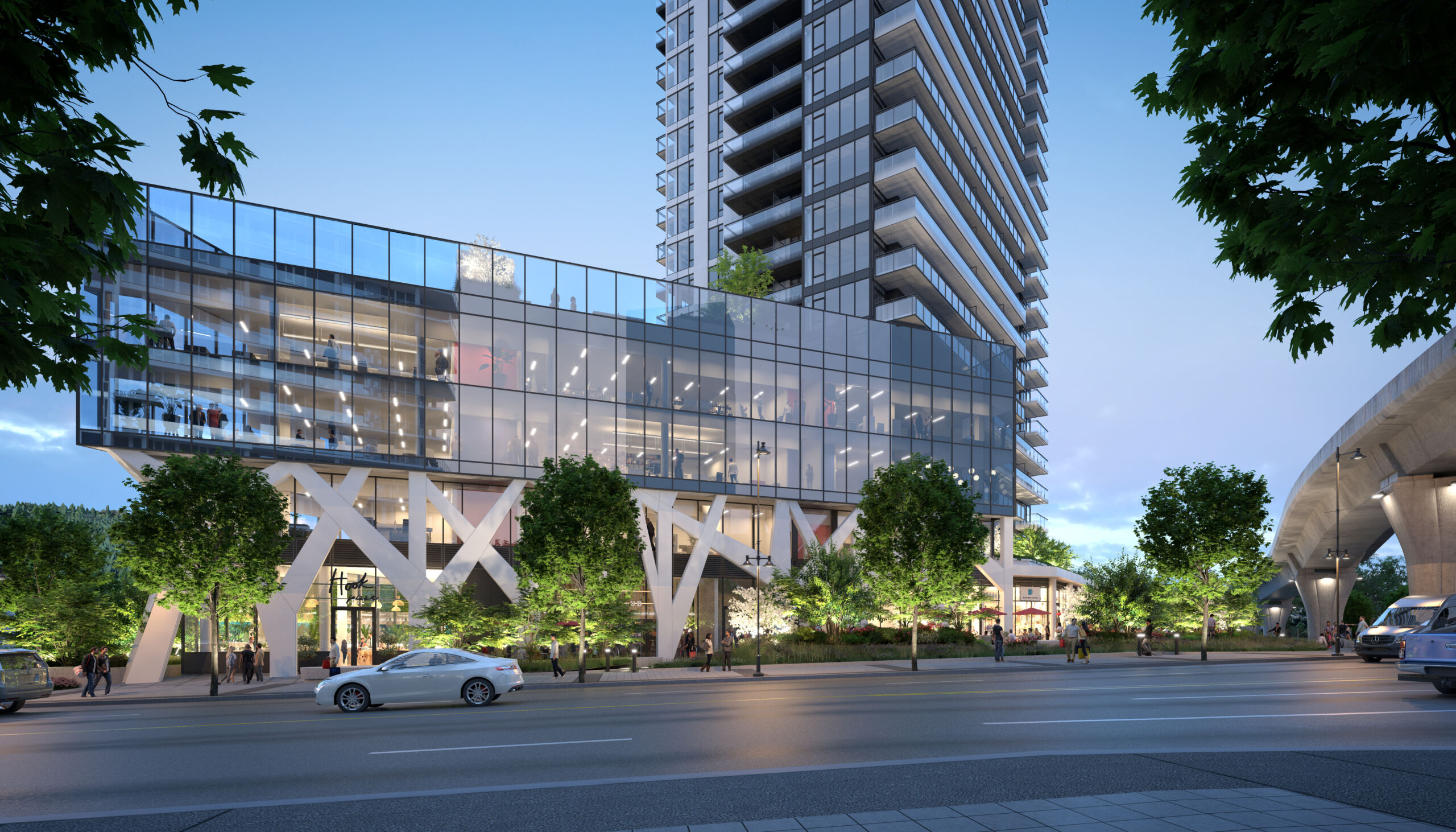 """Marcon to """"Celebrate"""" Busy Coquitlam Corner With 38-Storey Tower"""